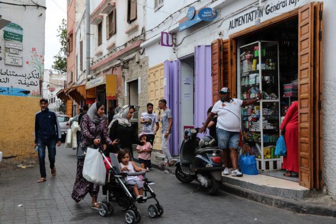 カサブランカ旧市街