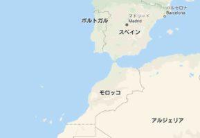 モロッコの場所