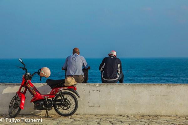 【チュニジア一人旅】チュニジア一青く美しい海がある「マハディア(Mahdia)」