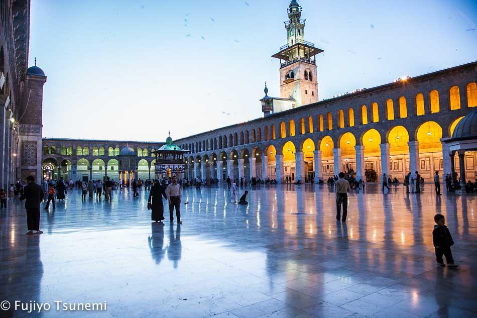 【シリアの魅力】ダマスカス「ウマイヤド・モスク」の美しさ