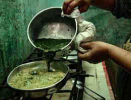 モロヘイヤスープの作り方