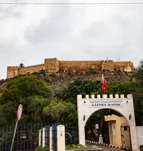 チュニジア・ケリビアのビザンチンの城塞