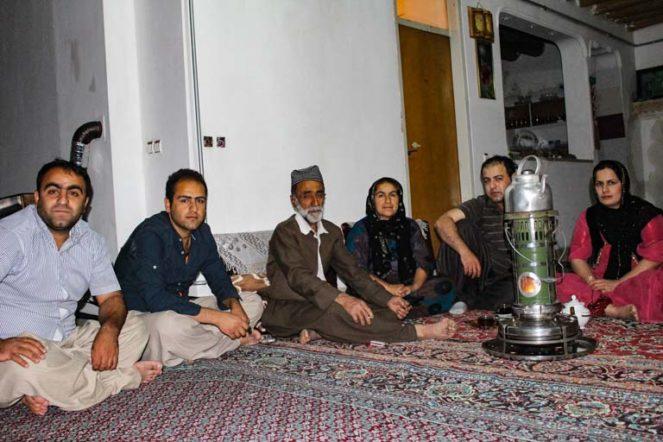 イランのクルディスタン州ホウラマン地方の民宿