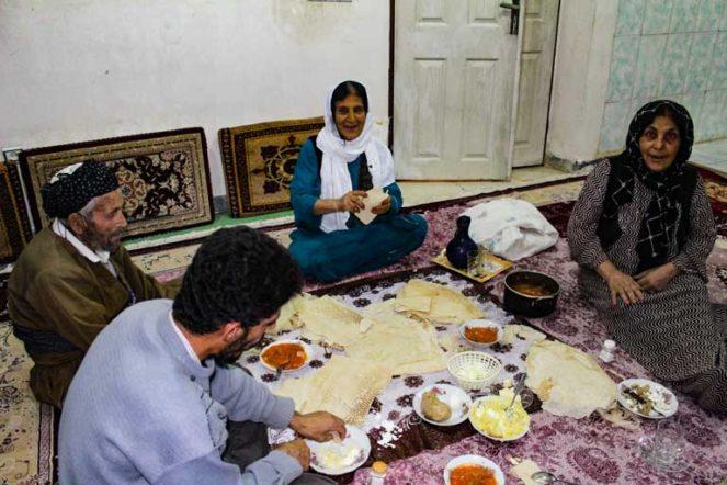 クルド人の食卓