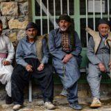 イランのクルディスタン州ホウラマン地方の男性
