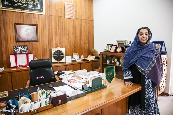 イスラム商工会議所・事務総長補佐<パキスタンの働く女性インタビュー(2)>