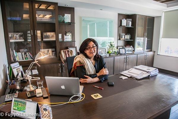 パキスタンの働く女性インタビュー(3)投資銀行の経営責任者