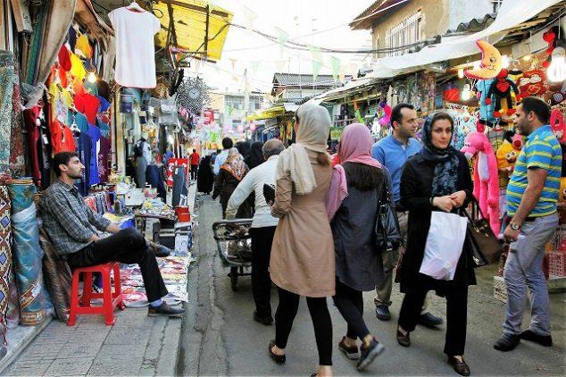 イラン女性の服装