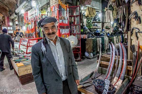 クルド人男性