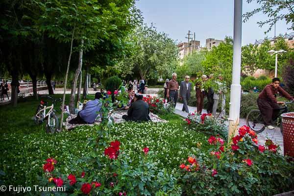 【イラン女一人旅】北西部&カスピ海沿岸(14)クルディスタン州「サッケズ」は美しい公園の町