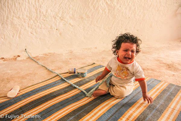 チュニジアの赤ちゃん