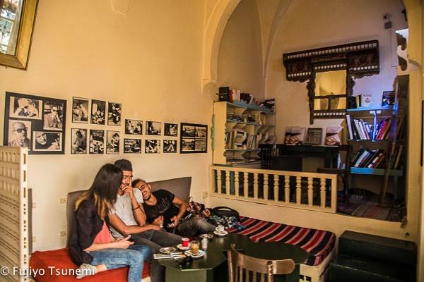 【チュニジア一人旅】モナスティール。元大統領の生家「Cafe  Dar El Habib」