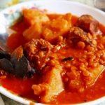 イランの伝統料理「アーブグーシュト」作り方はとても簡単です。