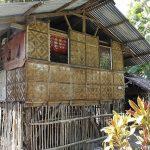セブ島のお宅拝見。日系リゾート横の竹小屋