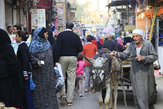 イスラミック・カイロに隣接する庶民的すぎるスーク