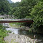 群馬の秘境・上野村で川遊び