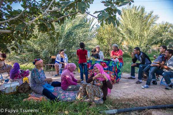 チュニジアの家族と過ごした幸せな時間