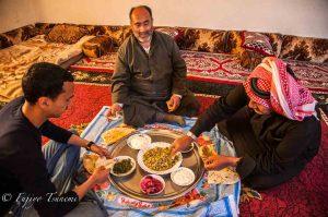 シリアの村長さんの家