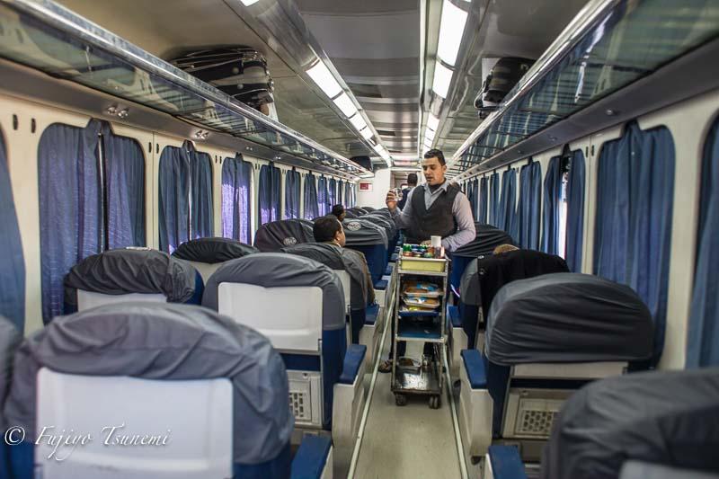 アスワンからカイロまでぶらり鉄道旅行