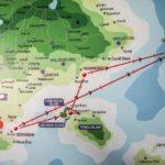 【ギリ・アイル島(インドネシア)】ギリ・アイルからバリ島へスピードボートで移動。船上で危機一髪の体験