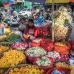 【ロンボク島・マタラム(インドネシア)】市場の活気に圧倒される