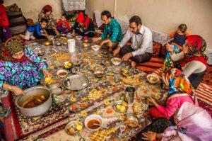 イランの家庭