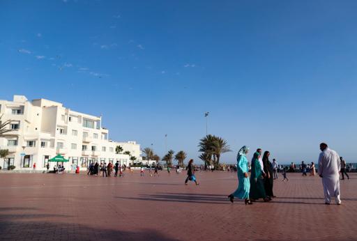 アガディールのビーチ