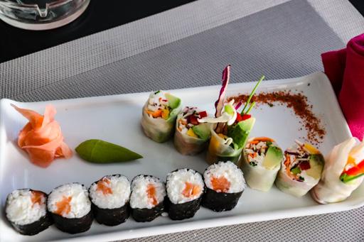 アガディールの寿司店