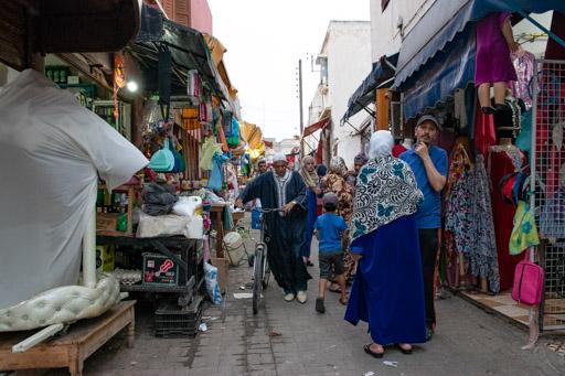 アズムールのマーケット