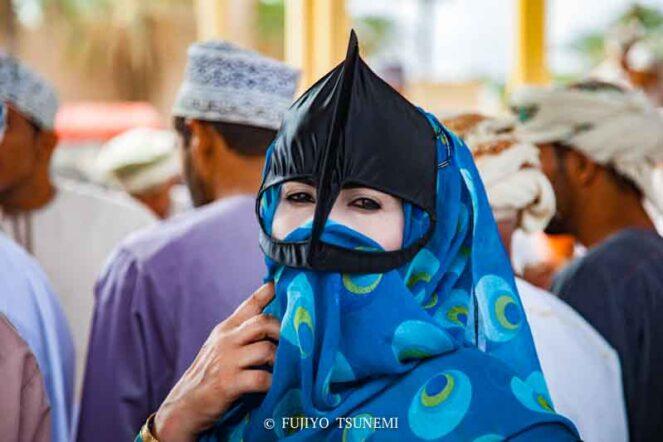 イスラム女性のブルカ