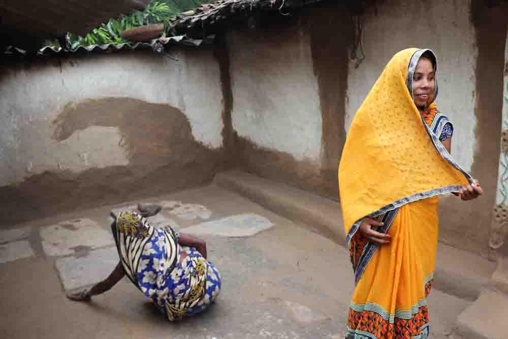 ヒンズー教徒の女性