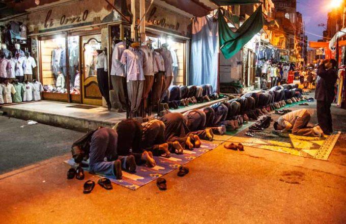 イスラム教の礼拝