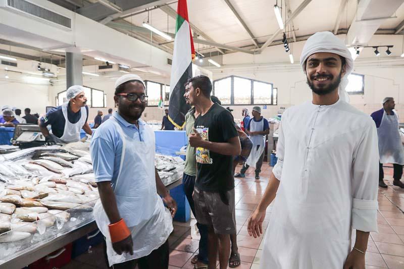 Abudabhi fishmarket 3