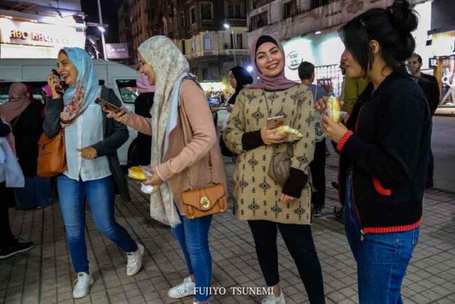 エジプト女性の服装