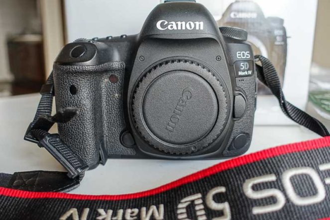 キャノンのカメラ