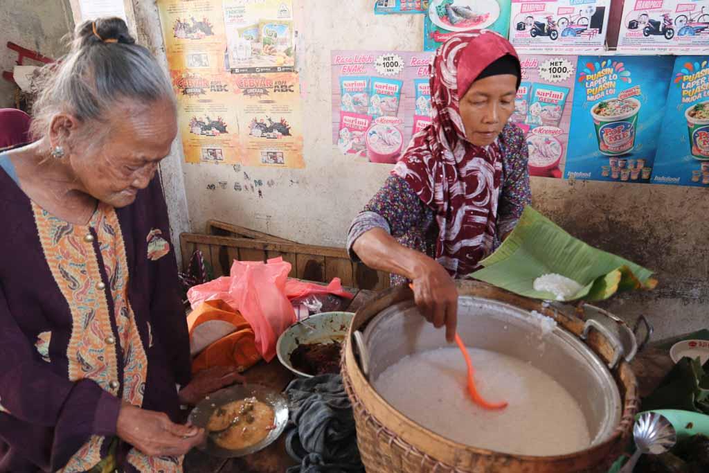 インドネシアのおかゆ