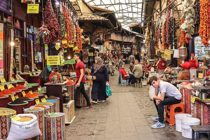 Gaziantep bazaar 1