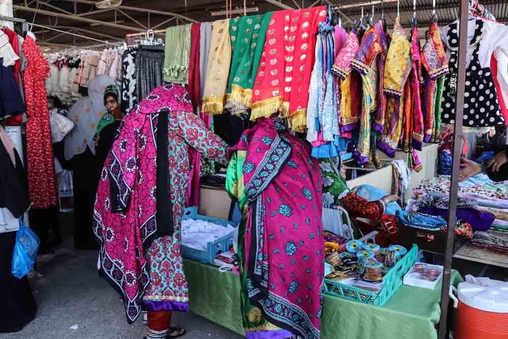 Ibra woman market イブラの女性市場
