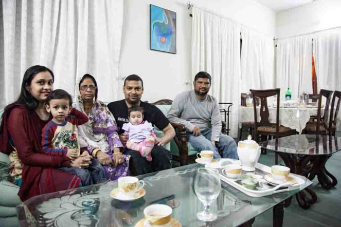 パキスタンの家族