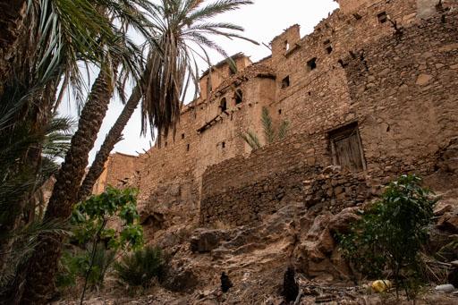 アイト・マンスールのグダルト村の廃墟。