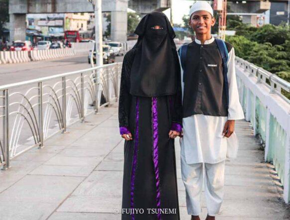 イスラム女性のファッション インドのイスラム女性