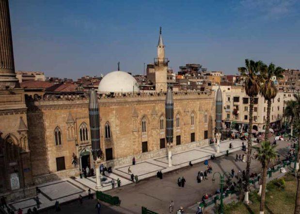 エジプト・カイロのフサインモスク