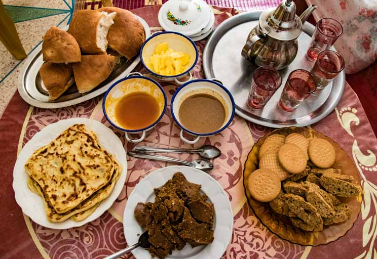 モロッコの朝食