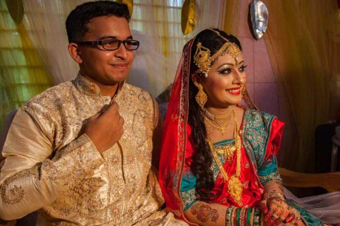 バングラデシュの結婚式:バングラデシュ女性:美人