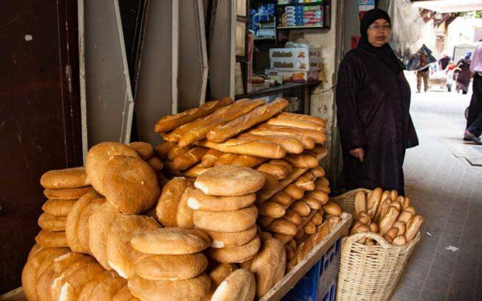 アラブ料理・モロッコのパン