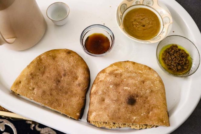サウジアラビアのパン