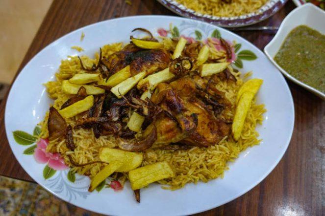 カブサ:サウジアラビア国民食