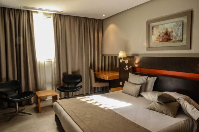 チュニスのホテル