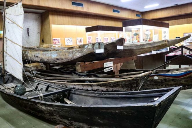 石垣市立八重山博物館 サバニ