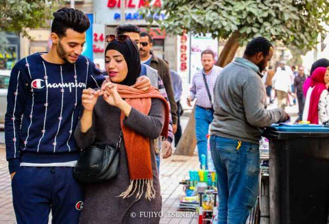 エジプト人カップル